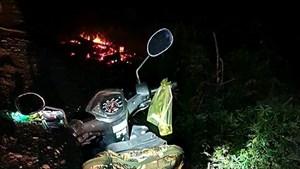 Bình Dương: Phát hiện thi thể người đàn ông cạnh đống củi cháy dở, nghi tự thiêu