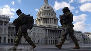Mỹ: Lầu Năm Góc gia hạn hoạt động của lực lượng bảo vệ Đồi Capitol