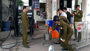 Nhiều vi phạm về hoạt động kinh doanh xăng dầu