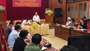 BẢN TIN MẶT TRẬN: Kiểm tra, giám sát bầu cử tại Yên Bái