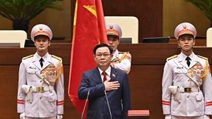 Tân Chủ tịch Quốc hội Vương Đình Huệ: Nguyện đem hết sức mình phụng sự Tổ quốc và Nhân dân