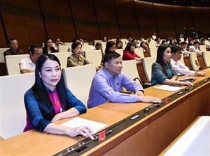 Tiến hành quy trình bầu Chủ tịch nước và Thủ tướng Chính phủ