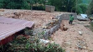 Thái Nguyên di dời khẩn cấp 13 hộ dân khỏi khu vực nguy cơ xảy ra lũ