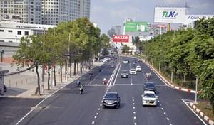 Chính thức thông xe, đưa vào khai thác đường Nguyễn Hữu Cảnh, TP HCM