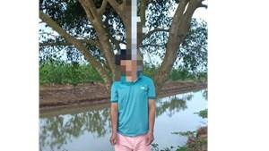 Thái Bình: Người đàn ông tử vong trong tư thế treo cổ ở đồng làng