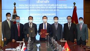 Việt Nam – Hàn Quốc hợp tác ứng phó với biến đổi khí hậu