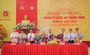 Tổng Bí thư, Chủ tịch nước và Thủ tướng Chính phủ tham gia Ban Thường vụ Đảng ủy Công an Trung ương