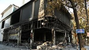 Phía sau một vụ cháy