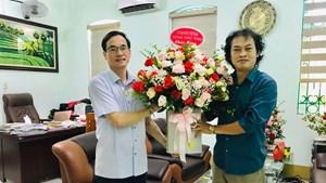 Ủy ban MTTQ tỉnh Phú Thọ thăm, chúc mừng Văn phòng báo Đại Đoàn Kết