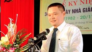 Nguyên Phó Chủ tịch tỉnh Nam Định sang làm cho doanh nghiệp tư nhân