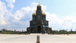 Khám phá công trình quy mô kỷ niệm 75 năm Chiến thắng phát xít của Nga