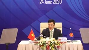 Các nước đánh giá cao vai trò Chủ tịch ASEAN 2020 của Việt Nam