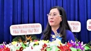 Quảng Ngãi: Đại hội điểm bầu trực tiếp Bí thư cấp huyện