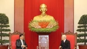 Mở rộng dòng chảy quan hệ thương mại giữa Việt Nam và Lào