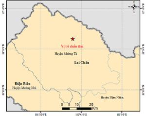 Động đất lại xảy ra tại Mường Tè, tỉnh Lai Châu vào sáng 29/6