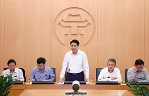 Ông Nguyễn Đức Chung được xét tặng Huân chương Lao động vì thành tích chống dịch