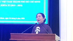 BẢN TIN MẶT TRẬN: Mặt trận TP HCM có thêm hai Phó Chủ tịch