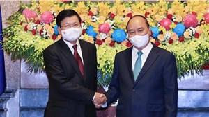 Tổng Bí thư, Chủ tịch nước Lào Thongloun Sisoulith kết thúc tốt đẹp chuyến thăm hữu nghị chính thức Việt Nam