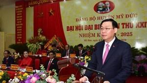 Bí thư Hà Nội: Sớm đưa Đồng Tâm trở thành xã nông thôn mới