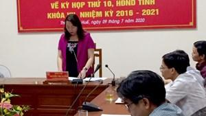 Kỳ họp thứ 10, HĐND Thừa Thiên - Huế: Sẽ thông qua 13 nghị quyết