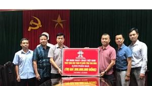 Mặt trận Thái Bình tiếp nhận 2.000 phần quà hỗ trợ người nghèo