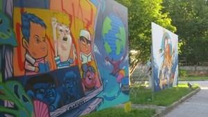 Triển lãm nghệ thuật đường phố