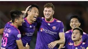 Kết quả V-League: Quảng Nam cầm chân Sài Gòn FC, SLNA tiếp tục thua