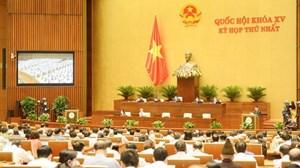 Quốc hội khóa XV thông qua các nghị quyết về công tác cán bộ