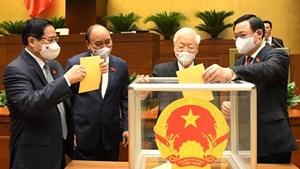 Danh sách nhân sự được trình để phê chuẩn, bổ nhiệm 4 Phó Thủ tướng và 22 Bộ trưởng, Trưởng ngành