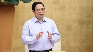 Thủ tướng Phạm Minh Chính: Không để khủng hoảng y tế, khủng hoảng KTXH