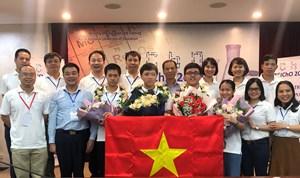 Việt Nam giành 4 HCV Olympic Hóa học Quốc tế 2020