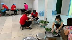 Thanh Oai, Hà Nội: Những bữa ăn ấm áp trong khu cách ly y tế tập trung của huyện