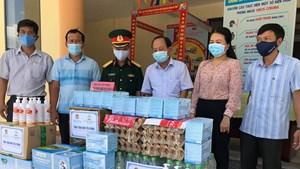 Quảng Nam: Ấm áp tình người giữa mùa dịch Covid-19