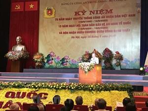 75 năm truyền thống CAND Việt Nam: Rạng rỡ trang sử vàng