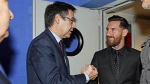 Chủ tịch Barca sẵn sàng từ chức vì Messi