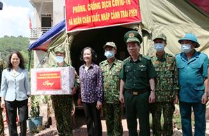 Trưởng ban Dân vận Trung ương thăm, làm việc với Biên phòng Lạng Sơn