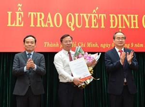 Thư ký của ông Nguyễn Thiện Nhân làm Chánh Văn phòng Thành ủy TP HCM