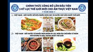 5 kỷ lục thế giới cho ẩm thực Việt Nam
