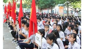 Ninh Thuận: Trường THPT Dân tộc nội trú khai giảng năm học mới