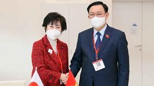 Chủ tịch Quốc hội hội kiến Chủ tịch Thượng viện Nhật Bản