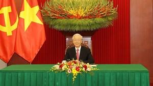 Tổng Bí thư Nguyễn Phú Trọng: Đề nghị Trung Quốc tiếp tục tạo điều kiện để thương mại hai nước phát triển cân bằng hơn