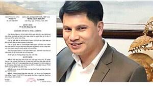 Giám đốc Sở Tư pháp tỉnh Lâm Đồng bị điều làm chuyên viên