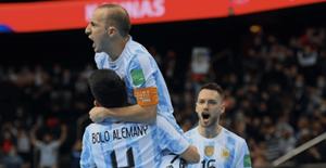 Thắng nghẹt thở Nga, Argentina gặp Brazil ở bán kết World Cup futsal 2021