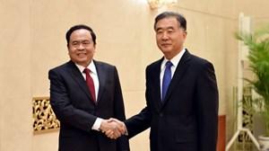 Chủ tịch Trần Thanh Mẫn gửi Điện mừng nhân kỷ niệm lần thứ 71 Quốc khánh Trung Quốc