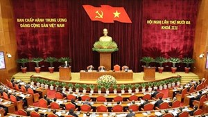 Ngày làm việc thứ nhất Hội nghị thứ 13 Ban Chấp hành TW Đảng khóa XII