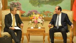 Chuẩn bị tốt nhất cho chuyến thăm của Thủ tướng Nhật Bản đến Việt Nam