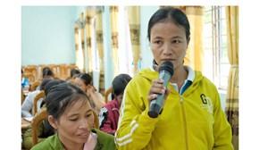 Kông Chro (Gia Lai): Đối thoại giữa phụ nữ và chính quyền