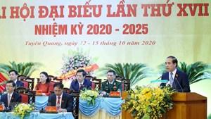 [ẢNH] Khai mạc Đại hội đại biểu Đảng bộ tỉnh Tuyên Quang lần thứ XVI