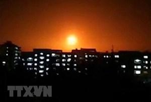 Israel không kích các mục tiêu ở Syria khiến 4 người thương vong