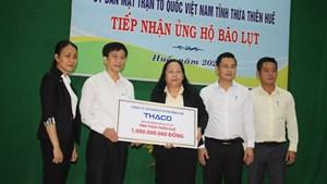 Thừa Thiên - Huế: Tiếp nhận hơn 9 tỷ đồng tiền, hàng ủng hộ đồng bào vùng lũ